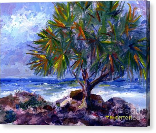 View At Maku'u Canvas Print