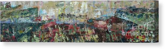 View From A Cliff - Sold Canvas Print