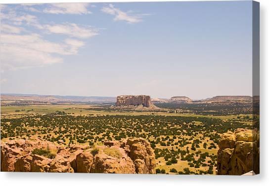 View From Acoma Mesa Canvas Print