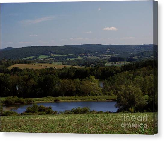 View From Amenia Canvas Print