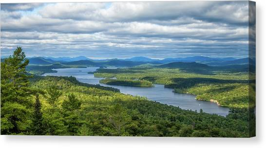 View From Bald Mountain Canvas Print