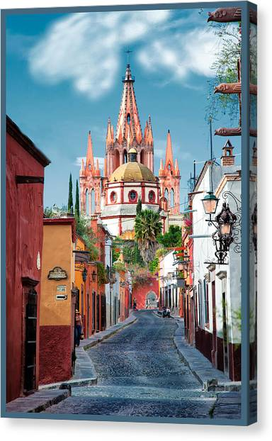 View From Calle Adama Canvas Print