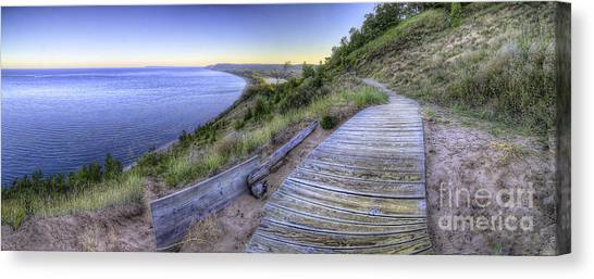 Oneida Canvas Print - View From Empire Bluff by Twenty Two North Photography