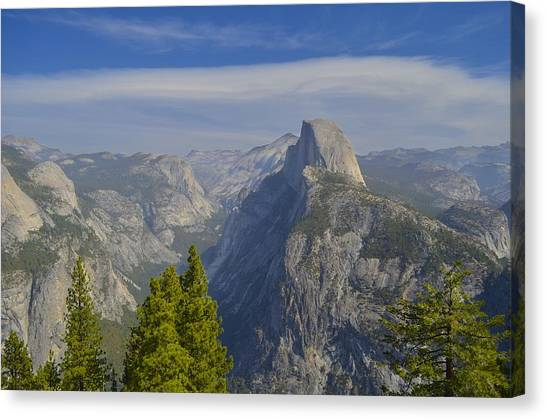 View From Glacier Point Yosemite Canvas Print
