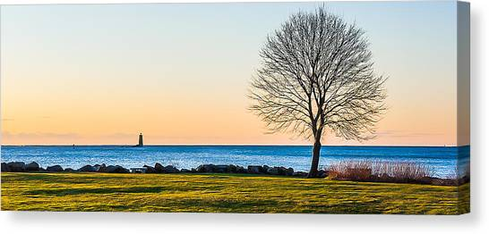 View From Great Island Common Canvas Print