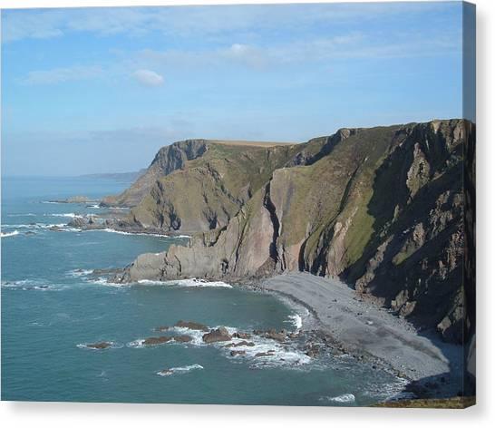 Higher Sharpnose Point Canvas Print