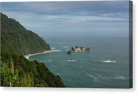 Arnotts canvas print view from knights point lookout by panoramic images