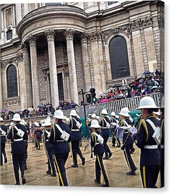 Wrens Canvas Print - View From. Lord Mayor's Show 2013 by Alex Nisbett