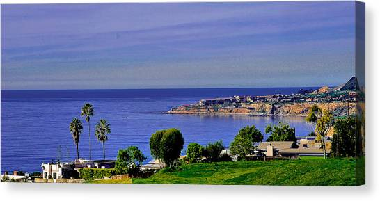 View From Pv Canvas Print