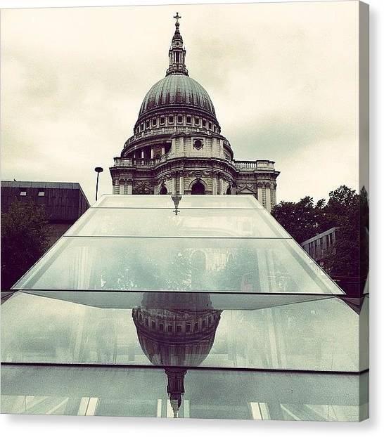 Wrens Canvas Print - View From. @stpaulsloversanonymous by Alex Nisbett