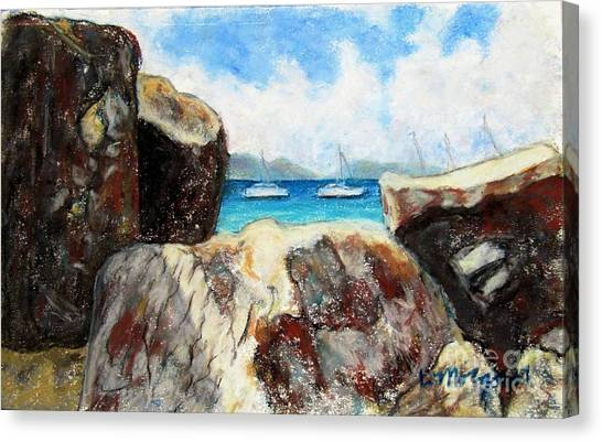 View Of Devil's Bay Canvas Print