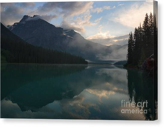 View From The Dock Canvas Print