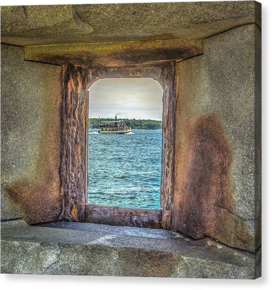 View From The Fort Canvas Print