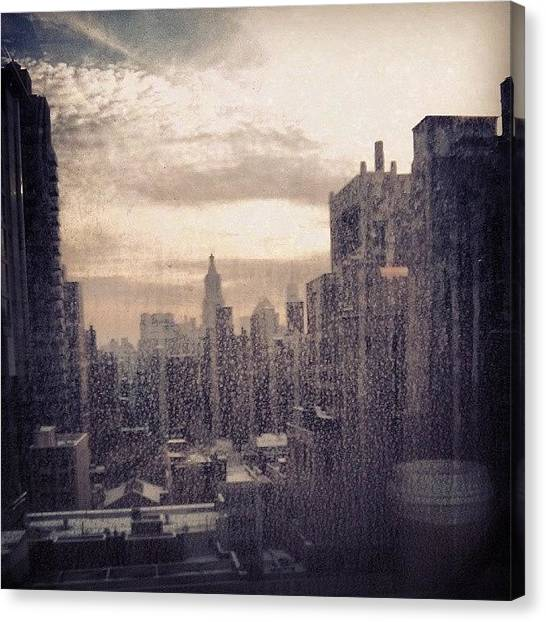 Karma Canvas Print - View From The One And Only #window In by Karma Sherpa