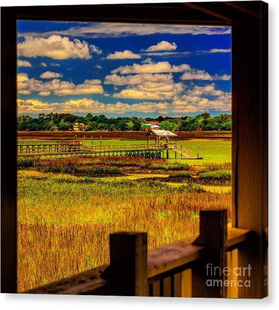 View From The Porch Canvas Print