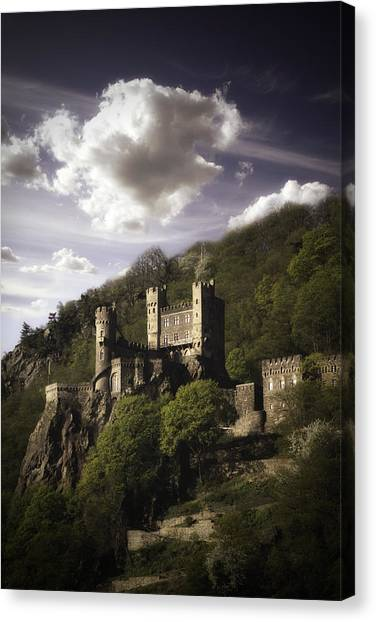 View From The Rhine River Canvas Print by James Bethanis
