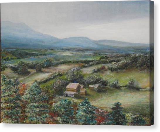 View From The Taconic Canvas Print