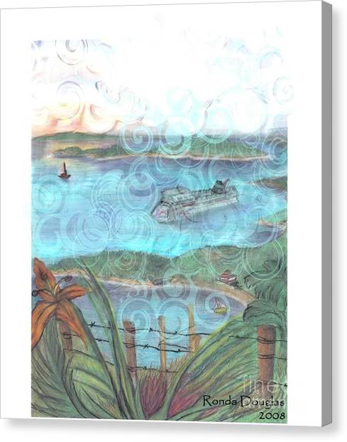 View From Tourtuga Canvas Print