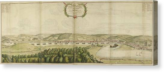 Principals Canvas Print - View Of Chatham by British Library
