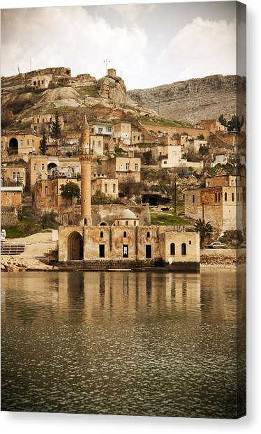view of Halfeti Canvas Print by Fotosipsak