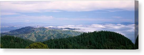 Marin Canvas Print - View Of San Francisco From Mt by Panoramic Images