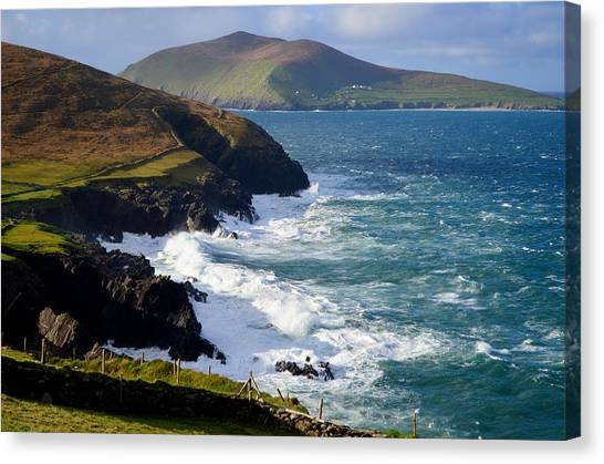 View Of The Blasket Island Canvas Print