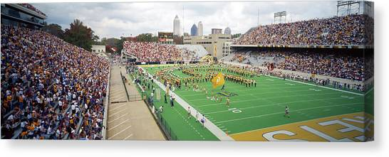 Georgia Institute Of Technology Georgia Tech Canvas Print - View Of The Bobby Dodd Stadium by Panoramic Images