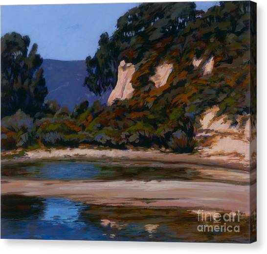 View Of The Slough Canvas Print