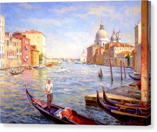 View On Della Salute Canvas Print