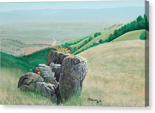 Views From Canada De Los Osos #1 Canvas Print