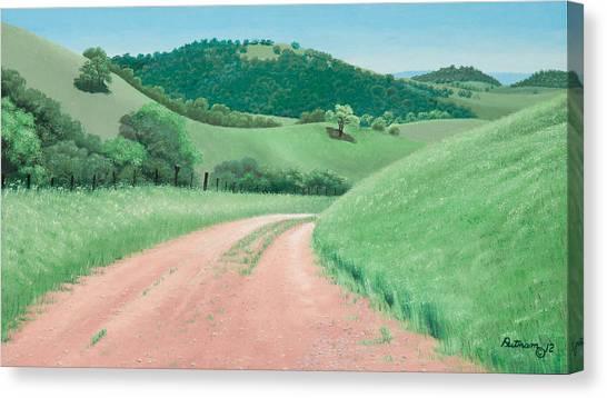 Views From Canada De Los Osos #2 Canvas Print