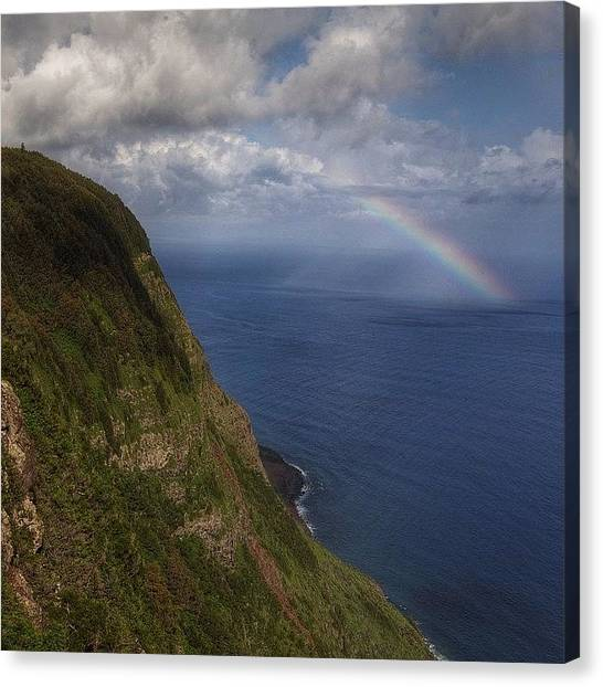 Hawaii Canvas Print - Views From Our Amazing Hike Down To by Brian Governale