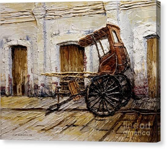 Vigan Carriage 1 Canvas Print