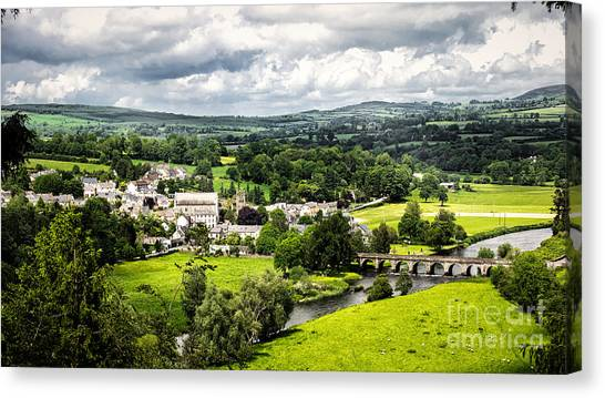 Village Of Inistioge Canvas Print