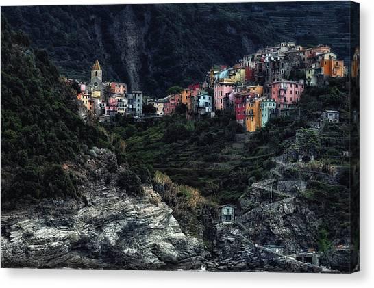 Rural Canvas Print - Village  -on The Rocks- by Piet Flour