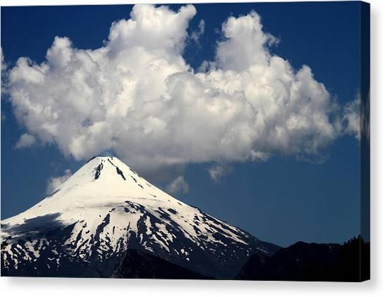 Villarrica Volcano Canvas Print by Arie Arik Chen