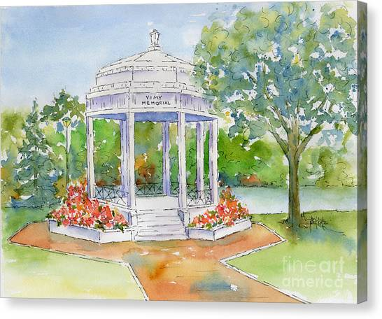 Vimy Memorial Canvas Print