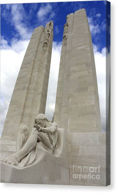 Vimy Ridge Memorial France Canvas Print