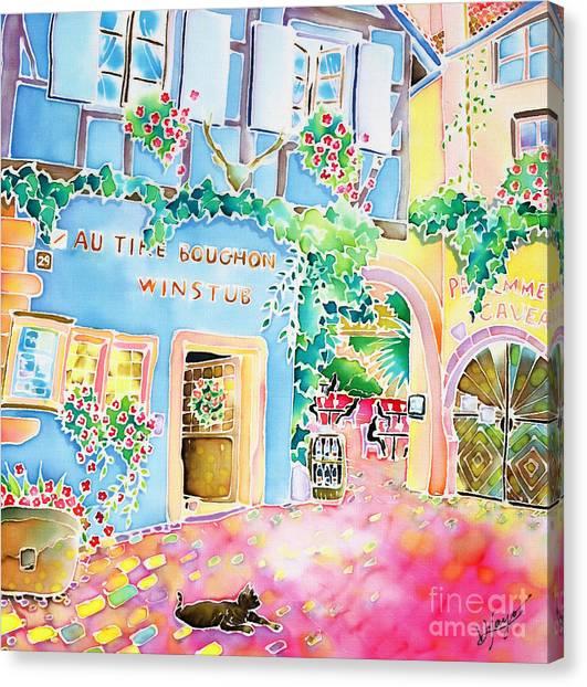 Vin Nouveau Canvas Print