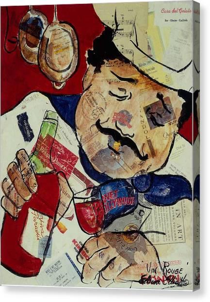 Vin Rouge Canvas Print