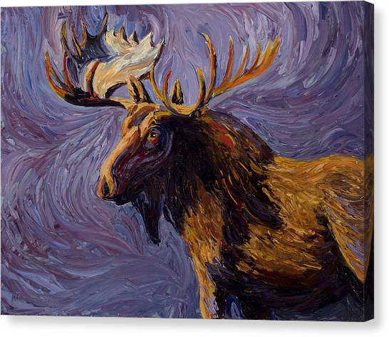 Vincent Van Moose Canvas Print