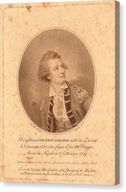 Nato Canvas Print - Vincenzo Lunardi,  Nesmith, Pinxt.  Burke by Litz Collection