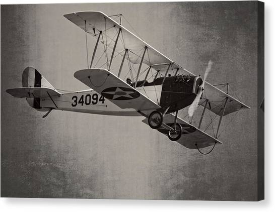 Vintage 1917 Curtiss Jn-4d Jenny Flying  Canvas Print