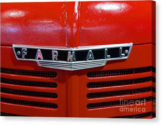 Vintage 1947 Farmall Tractor Canvas Print