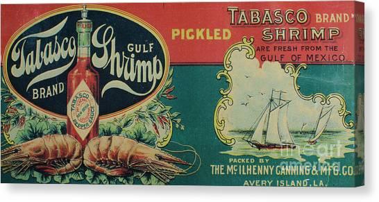 Vintage Advertisement Canvas Print