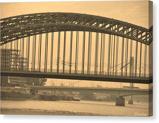 Vintage Bridge Canvas Print