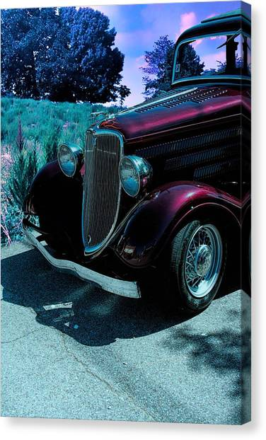 Automotive Art Series Canvas Print - Vintage Ford Car Art II by Lesa Fine