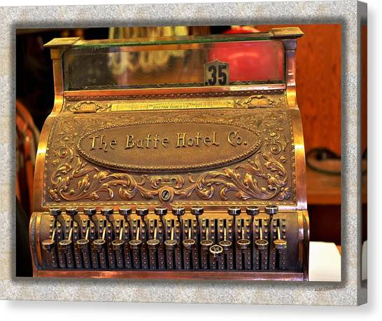 Vintage Cash Register Canvas Print