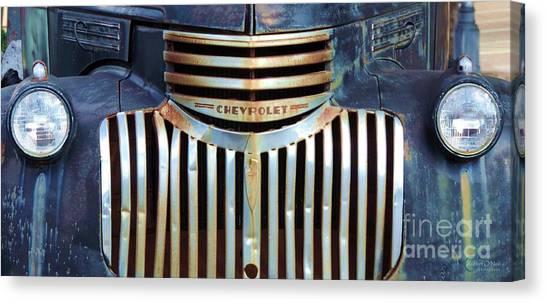 Vintage Chevrolet 005 Canvas Print