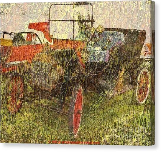 Vintage Classic Automobile Canvas Print